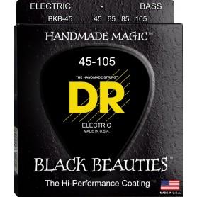 Cuerdas Bajo DR Strings Black Beauties 45-125