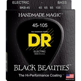 DR Black Beauties 45-125 Bass Strings