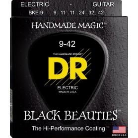 Cuerdas Eléctrica DR Strings BKE-9 Black Beauties 09-42