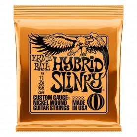 Ernie Ball 2222 Hybrid Slinky 09-46