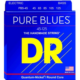 Cuerdas Bajo DR Strings Pure Blues PB5-45 45-125