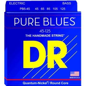 DR Strings Pure Blues 45-105 Medium