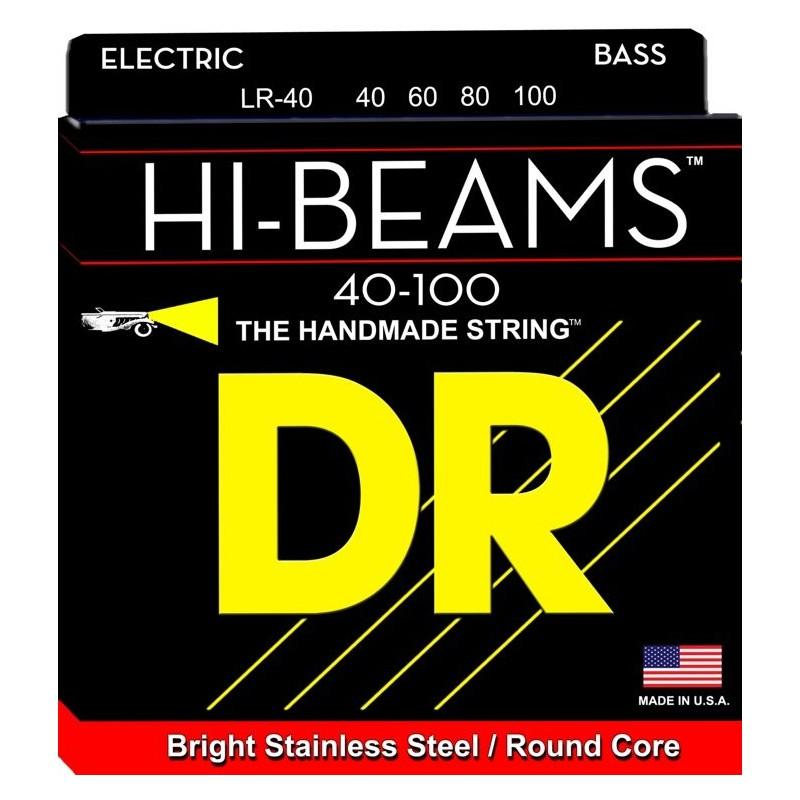 Cuerdas Bajo DR Strings Hi Beams LR-40 40-100