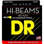 Cuerdas Bajo DR Strings Hi Beams LR-40 40-100