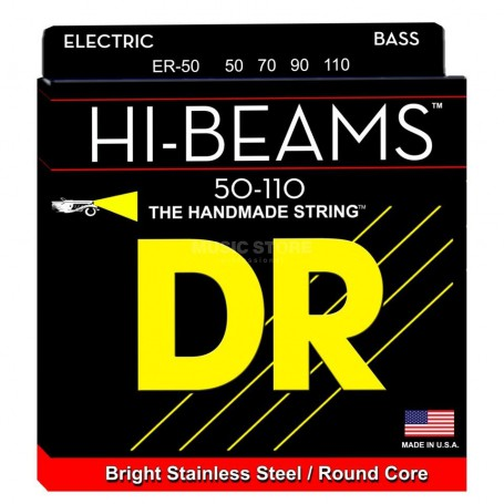 Cuerdas Bajo DR Strings Hi Beams ER-50 50-110