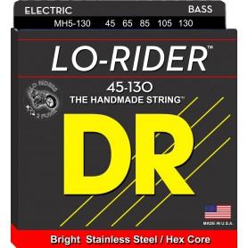 Cuerdas Bajo DR Strings Lo-Rider MH5-130 45-130