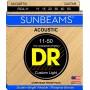 Cuerdas Acústica DR Strings Sunbeams RCA-11 11-50