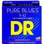 Cuerdas Eléctrica DR Strings PHR-9 Pure Blues 09-42