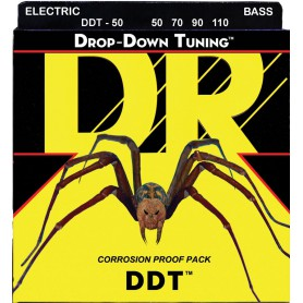 DR Strings DDT Drop Down Tuning 55-115