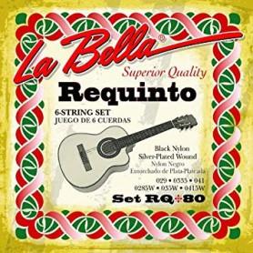 Cuerdas La Bella RQ80 Requinto