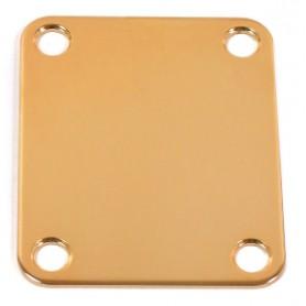 Placa de sujeción de mástil-Neck Plate Nickel