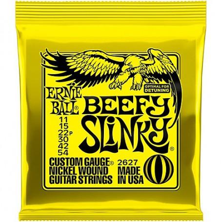 Cuerdas Eléctrica Ernie Ball 2627 Beefy Slinky 11-54
