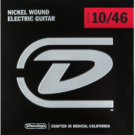 Dunlop Nickel Plated Steel Electric Strings 10-46