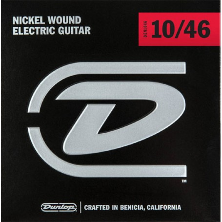 Cuerdas Eléctrica Dunlop Nickel Plated Steel 10-46