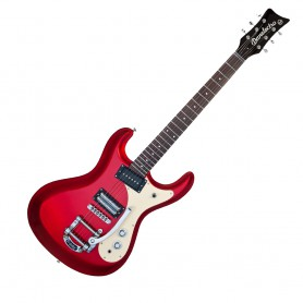 Guitarra Eléctrica Danelectro 64 Red Metallic