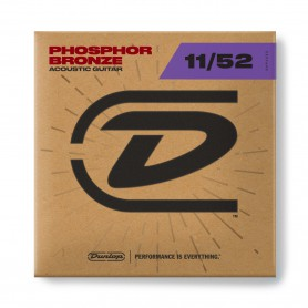 Dunlop Phosphor Bronze Acoustic Strings 11-52