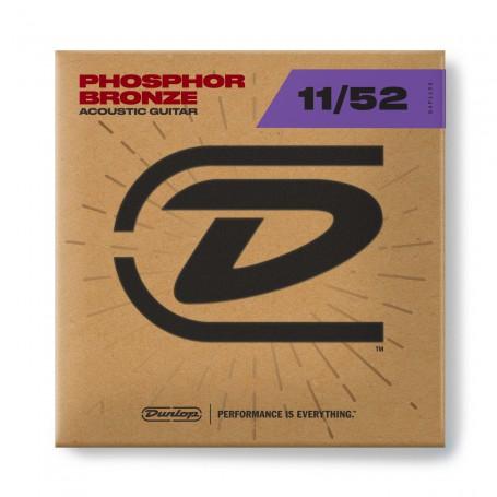 Cuerdas Acústica Dunlop Phosphor Bronze 11-52
