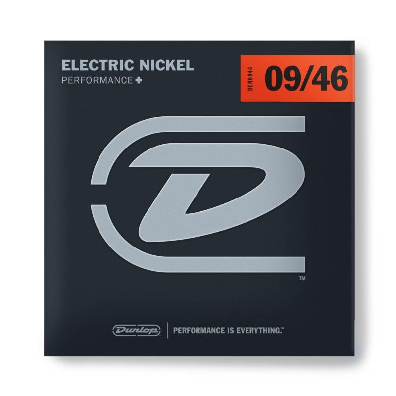 Cuerdas Eléctrica Dunlop Nickel Plated Steel 09-46-046