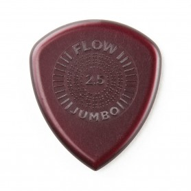 Púa Dunlop Flow Jumbo 2.50mm.
