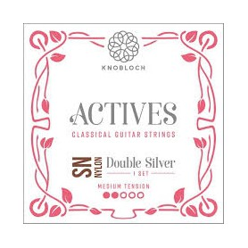 Knobloch Actives 300 ADN Double Silver Special Nylon Medium Tension