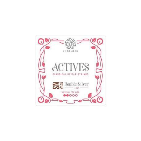 Cuerdas de Clásica Knobloch Actives 300 Double SilverTensión Media