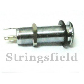 Panel End Pin Stereo Jack