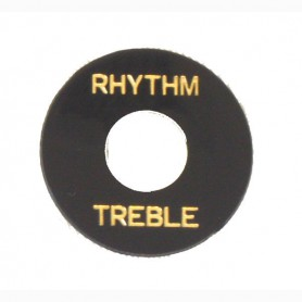 Rhythm & Treble Selector plate black