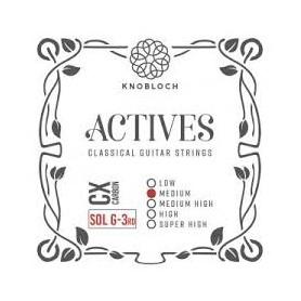 Cuerda Suelta Clásica Knobloch Actives CX 3ª-G Tensión Media