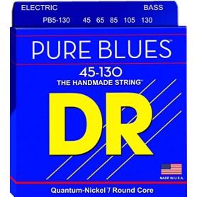 Cuerdas Bajo DR Strings Pure Blues PB5-45 45-125