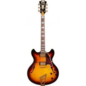 Guitarra Eléctrica D'Angelico Excel DC Vintage Sunburst