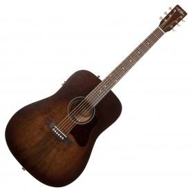 Guitarra Acústica Art & Lutherie Americana Q1T Bourbon Burst