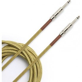 Cable Instrumento D'Addario Planet Waves PW-BG-20TW Tweed 6m.