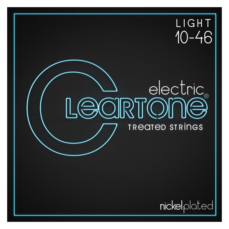 Cuerdas-Eléctrica-Cleartone Nickel Plated 10-46 Light