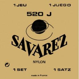 Cuerdas Clásica Savarez 520J Carta Amarilla