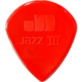 Púas Dunlop Nylon Jazz III N 1.38mm..38mm.