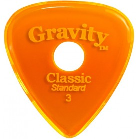 Púa Gravity Picks Classic Standard Elipse 3mm.