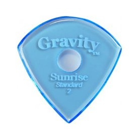 Púa Gravity Picks Sunrise Round Hole 2mm.