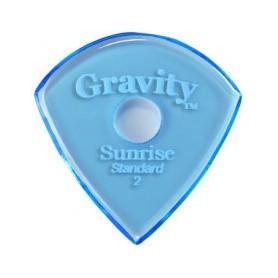 Púa Gravity Picks Sunrise Round Hole 2mm.