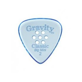 Púa Gravity Picks Classic Big Mini Multi Hole 2mm.