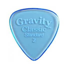 Púa Gravity Picks Classic Standard Elipse 2mm.