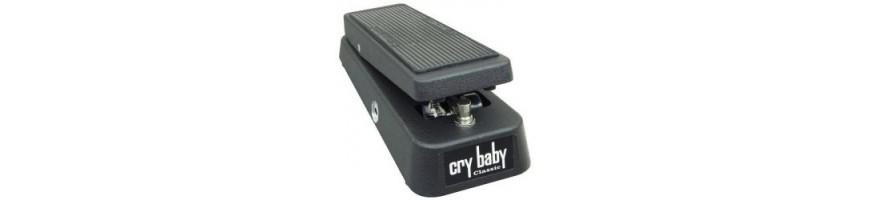 Pedal de Wah, Pedales Wah, Dunlop Cry Baby, GCB95, Pedales de guitarra
