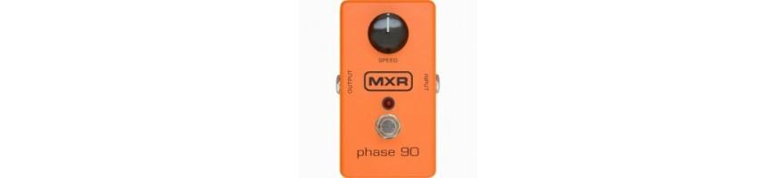 Pedales de Modulacion, pedales phaser, flanger, pedales chorus, MXR,