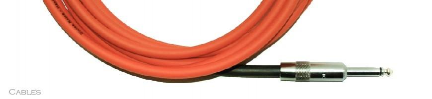 Cables de guitarra, Cables para Guitarra, Cables Jack