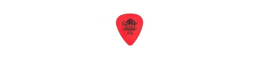 Púas Dunlop Tortex Series, Púas de Guitarra y bajo, Púas Dunlop