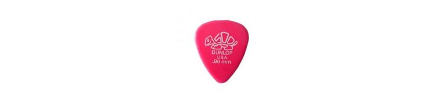 Púas Dunlop Delrin, Púas de Guitarra y Bajo, Púas Dunlop,