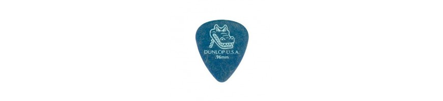 Púas Dunlop Gator Grip, Púas de Guitarra y Bajo, Púas Dunlop