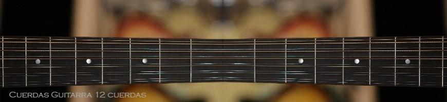 Juegos de cuerdas para guitarras de 12 cuerdas, acusticas o electricas