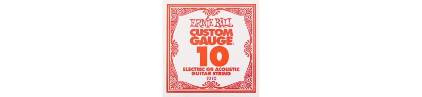 Cuerdas sueltas de guitarra eléctrica, Cuerdas suelta de electrica