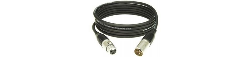 Cables de micrófono, Cable Canon, Cable XLR