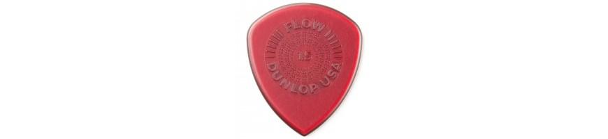 Púas Dunlop Flow, Púas de Guitarra y Bajo, Púas Dunlop,